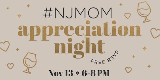#NJMOM Appreciation Night