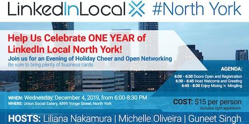 LinkedIn Local North York - One Year Anniversary!