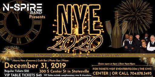 New Years Eve 2020 Celebration with N-Spire
