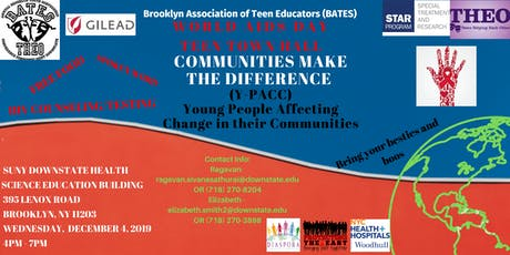 World Aids Day Teen Town Hall tickets