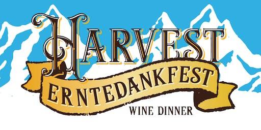Ecco Harvest Dinner: Erntedankfest