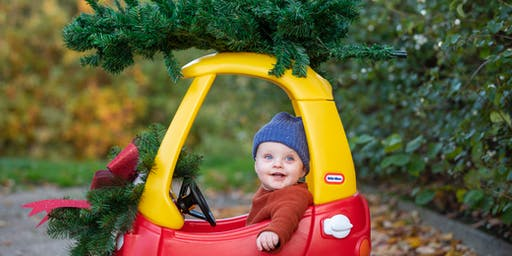 Christmas Car & Tree Mini Photo Shoot with Summers Photography Bracknell Berkshire