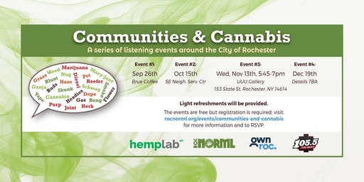 Communities & Cannabis