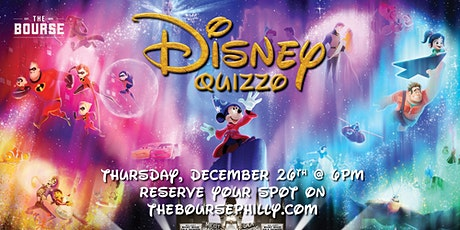 Disney Movie Quizzo at The Bourse Philly tickets