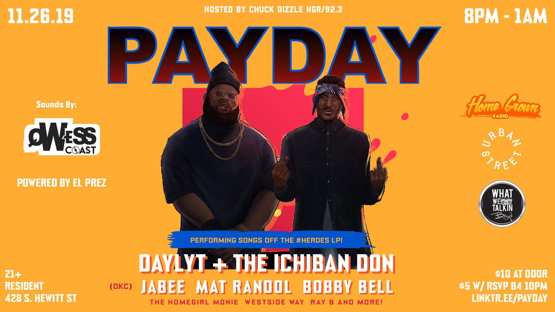 PayDay LA feat. Daylyt & The Ichiban Don