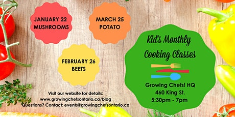 Kid's Monthly Cooking Class - BEETS! tickets
