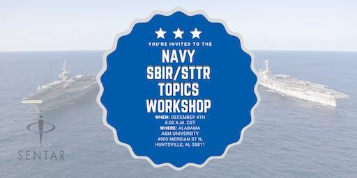 Huntsville Navy SBIR/STTR Topics Workshop