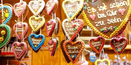 Decorate Traditional Gingerbread Hearts tickets