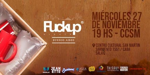 FuckUp Nights Buenos Aires Vol. 21 / Videojuegos y tecnología