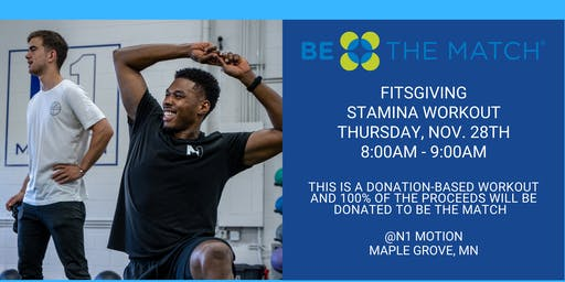 FITSGIVING: Donation-Based Stamina Workout 8AM