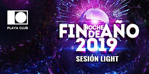 FIN DE AÑO sesión LIGHT | Playa Club