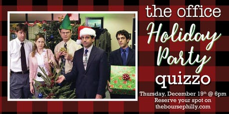 The Office Holiday Party Episodes Quizzo at The Bourse tickets