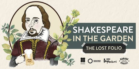 Shakespeare in the Garden: The Lost Folio tickets