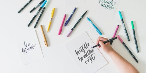 Mindful Lettering | Holiday Edition