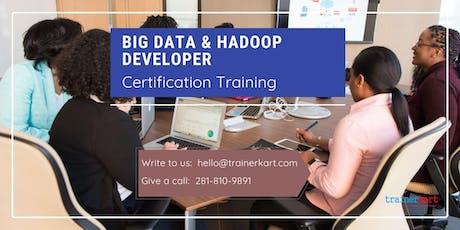 Big data & Hadoop Developer 4 Days Classroom Training in Orillia, ON tickets