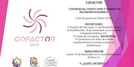COFACTOR 5° Edición entradas