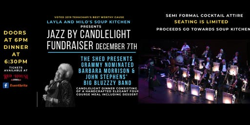 Barbara Morrison Jazz by Candlelight Fundraiser