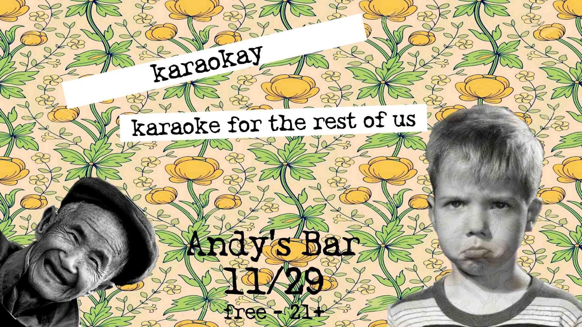 Karaoke w/ Johnny DuBiel