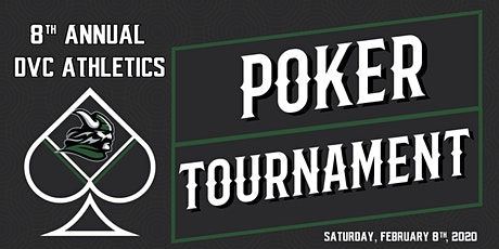 8th Annual DVC Athletics Poker Tournament tickets