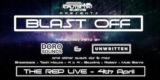 DrumAttik - Blast Off - 7th March - Ipswich