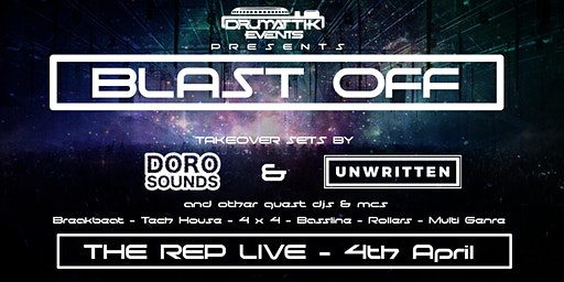 DrumAttik - Blast Off - 7th March - Ipswich