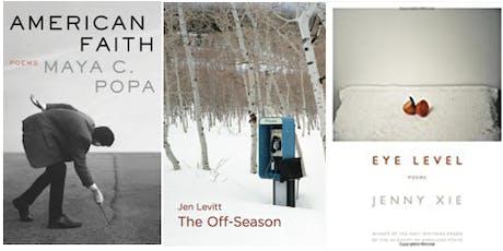 Poetry reading with Jenny Xie, Maya Popa, Jen Levitt tickets
