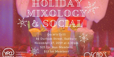Holiday Mixology & Social tickets