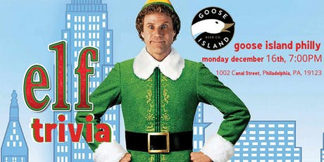 Elf Trivia at Goose Island Philly tickets