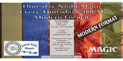 Thursday Night Magic Modern