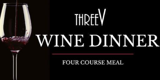 'Don't Be Shellfish' Wine Dinner at Three V