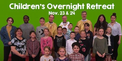 Children's Overnight Retreat
