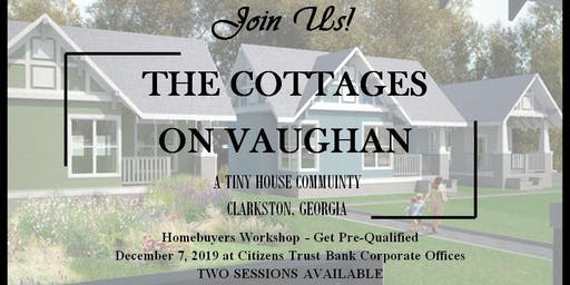 Cottages on Vaughan - Home Buying Workshop