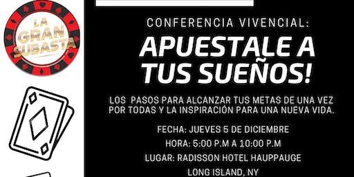 Conferencia Vivencial: APUESTALE A TUS SUEÑOS!