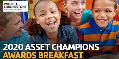 2020 Project Cornerstone Asset Champions Awards Breakfast