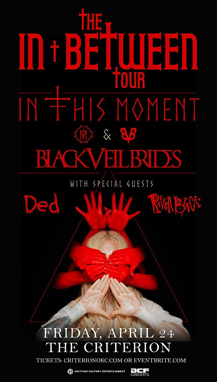 In This Moment- In Between Tour- Black Veil Brides image