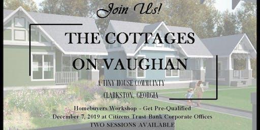 Cottages on Vaughan - Home Buying Workshop