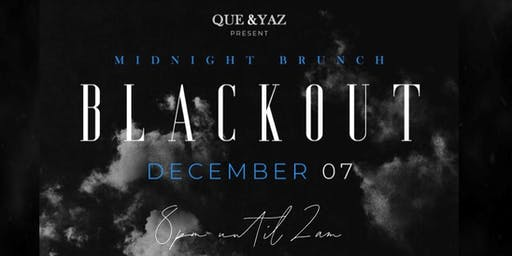 MIDNIGHT BRUNCH BLACKOUT