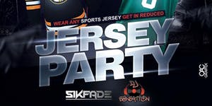 JERSEY PARTY @ The Greatest Bar