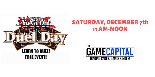Free Yugioh Learn to Play Day