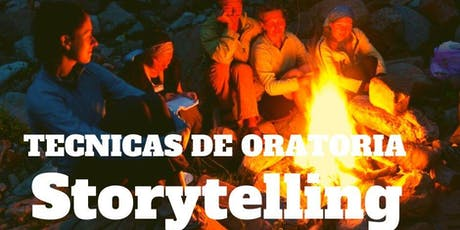 SEMINARIO ORATORIA CON STORYTELLING entradas