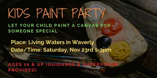 Youth Holiday Gift Paint Party