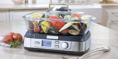 Clase de cocina con Crate & Barrel y Cuisinart - Arcos Bosques (Nov)