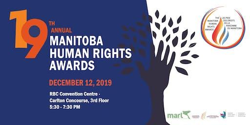 2019 Manitoba Human Rights Awards