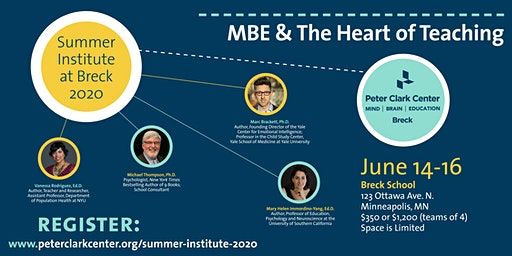 Peter Clark Center Summer Institute 2020: The Heart of Teaching