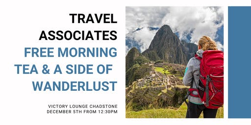 Free Morning Tea with Travel Associates, Intrepid, &  Peregrine Adventures