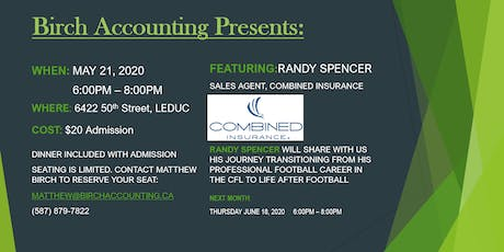 Birch Accounting Speaker Series-Randy Spencer tickets