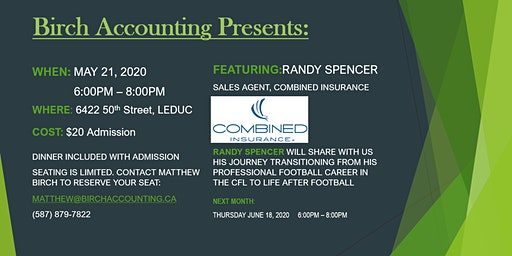Birch Accounting Speaker Series-Randy Spencer