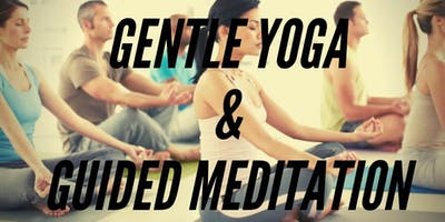 GENTLE YOGA AND GUIDED MEDITATION-