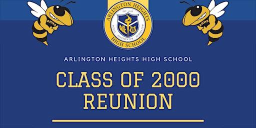 Arlington Heights High School (AHHS) Class of 2000 - 20-year Reunion!
