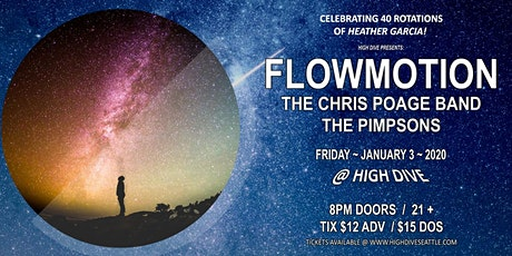 FLOWMOTION with The Chris Poage Band, The Pimpsons tickets